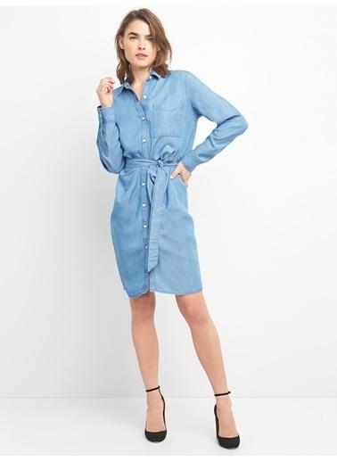 Gap Elbise İndigo